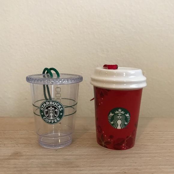 Coffee Christmas Ornaments.Starbucks Coffee Cup Christmas Ornaments